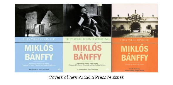 The covers of the new Arcadia Press releases of 'They Were Counted', 'They Were Found Wanting,' and 'They Were Divided'