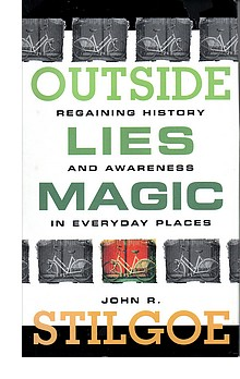 Cover of first U. S. edition of 'Outside Lies Magic'