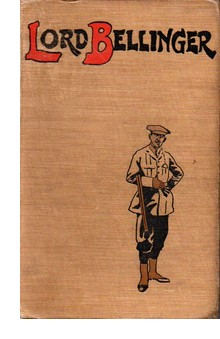 Cover of first U. K. edition of 'Lord Bellinger'