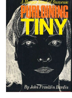 Cover of first U. S. edition of 'Purloining Tiny'
