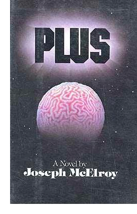 Cover of first U.S. edition of 'Plus'