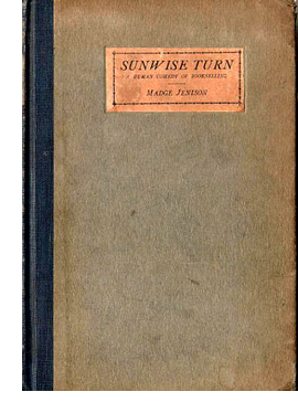 Cover of first U. S. edition of 'Sunwise Turn'