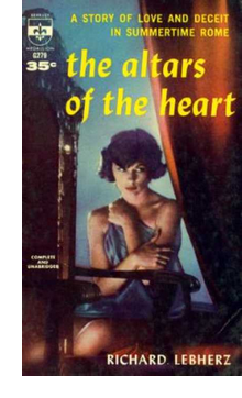 Cover of Berkeley paperback edition of 'Altars of the Heart'