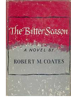 Cover of first U. S. edition of 'The Bitter Season'