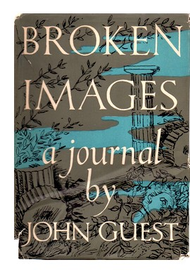 Coverr of first U.K. edition of 'Broken Images'