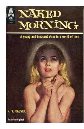 Cover of Avon paperback original of 'Naked Morning'