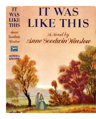 Cover of first US edition of 'It Was Like This'