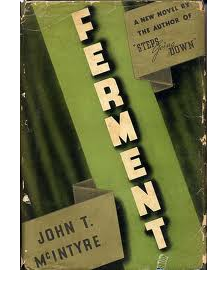 Cover of first US edition of 'Ferment'