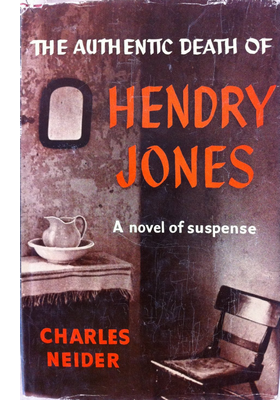 Cover of first U.S. edition of 'The Authentic Death of Hendry Jones'