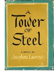 Cover of first US edition of 'Tower of Steel'