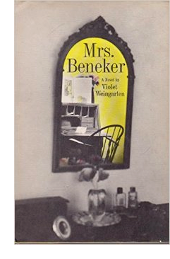 Cover of first US edition of 'Mrs. Beneker'