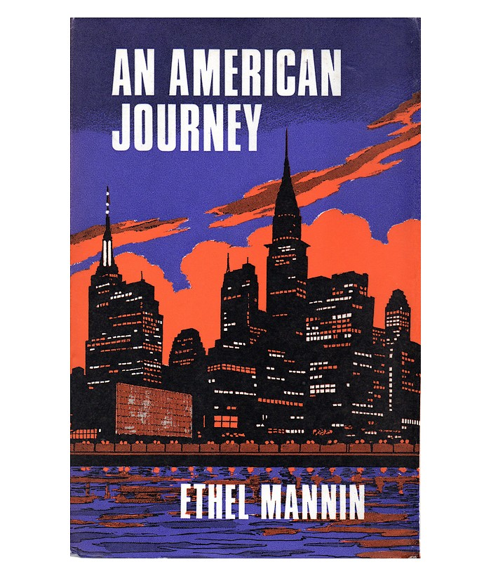 Cover of UK edition of 'An American Journey'