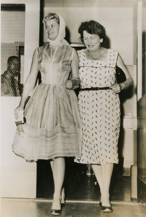 Beverly and Florence Aadland