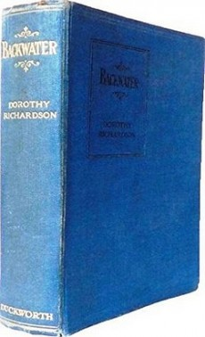 First UK edition of Backwater