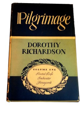 Cover of Volume 1 of 1938 Knopf edition of Pilgrimage