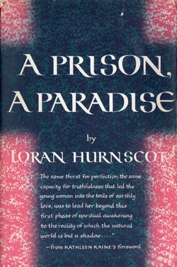 Cover of first U. S. edition of 'A Prison, A Paradise'