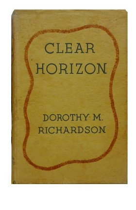 Cover of UK first edition of Clear Horizon