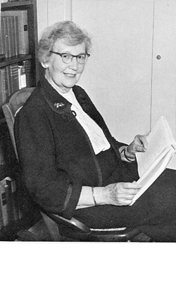 Abbie Huston Evans, around 1961