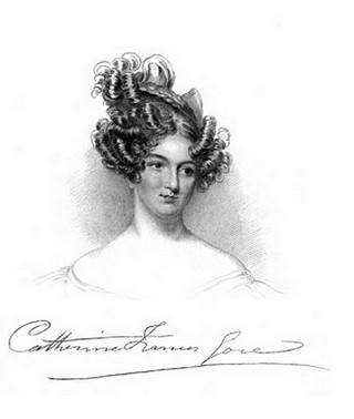 A portrait of Catherine Gore