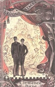 "Cover of first UK edition of ""Broome Stages"""