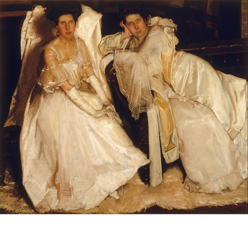The Sisters, by Hugh Ramsay (1904)