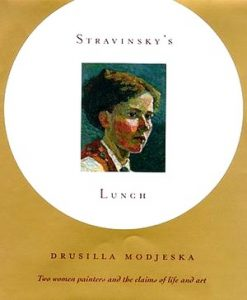 "Cover of first US edition of ""Stravinsky's Lunch"""