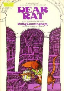 "Cover of paperback edition of ""Dear Rat"""