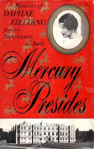"Cover of first US edition of ""Mercury Presides"""