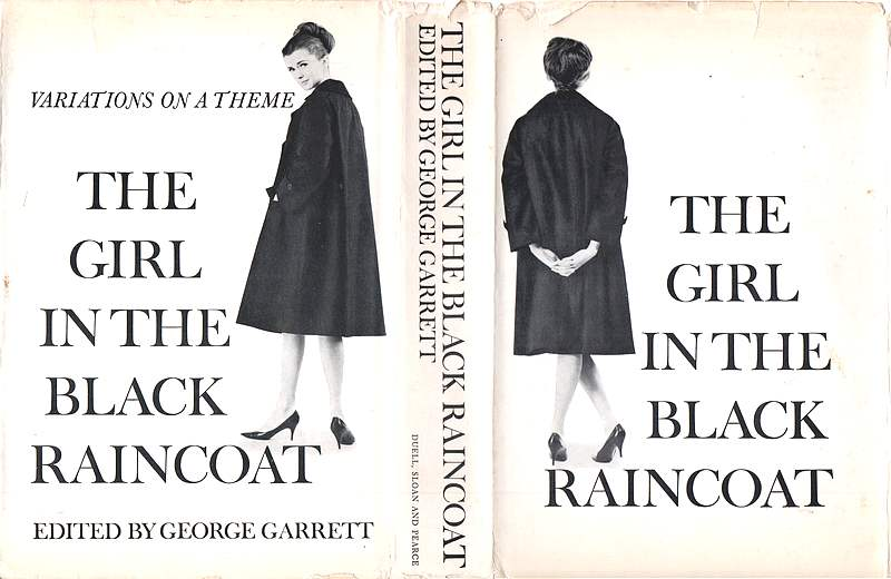 Cover of 'The Girl in the Black Raincoat'