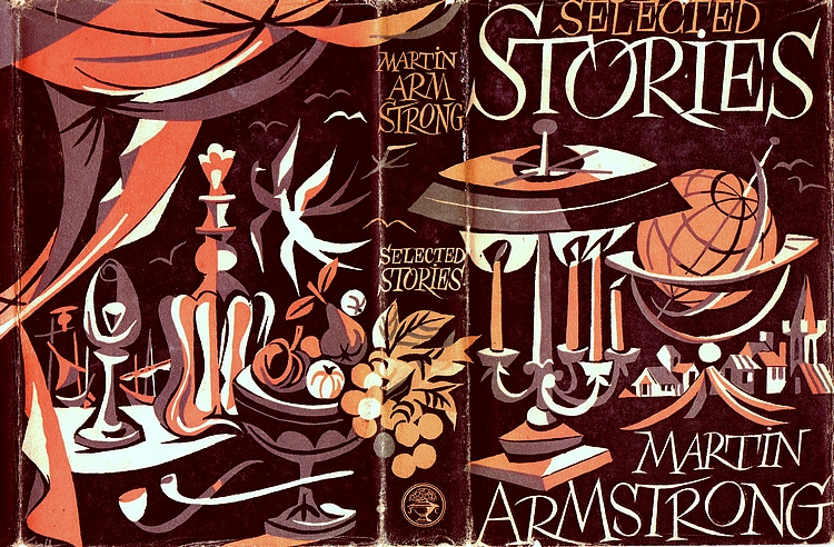 Cover of first UK edition of 'Selected Stories' by Martin Armstrong