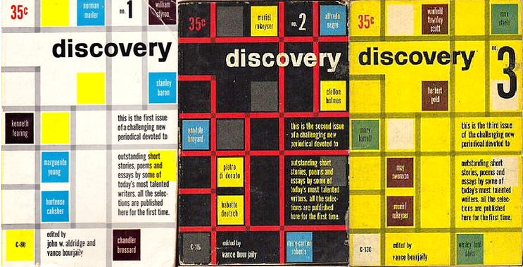 Covers of Discovery numbers 1, 2, and 3