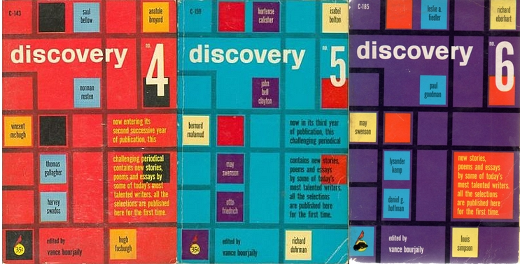 Covers of Discovery numbers 4,5, and 6