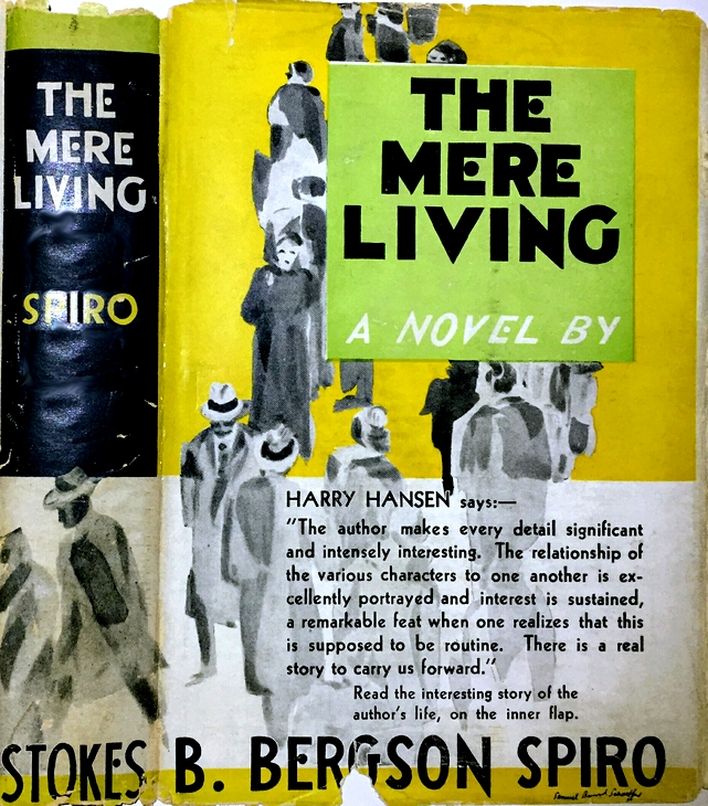 53d4e47da04c3 Cover of first US edition of 'The Mere Living'